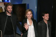 Jennifer Lawrence and Josh Hutcherson Photo