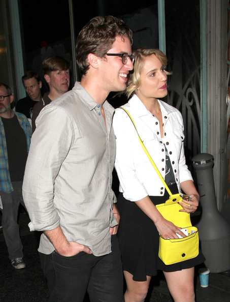 More Pics of Dianna Agron Leather Shoulder Bag (1 of 11) - Dianna Agron Lookbook - StyleBistro