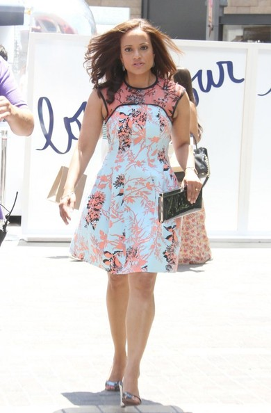 More Pics of Judy Reyes Print Dress (1 of 20) - Judy Reyes Lookbook - StyleBistro
