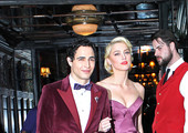 Zac Posen and Amber Heard Photo