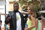 Maria Menounos and 50 Cent Photo