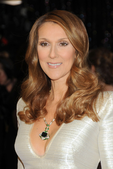 Celine Dion Long Curls