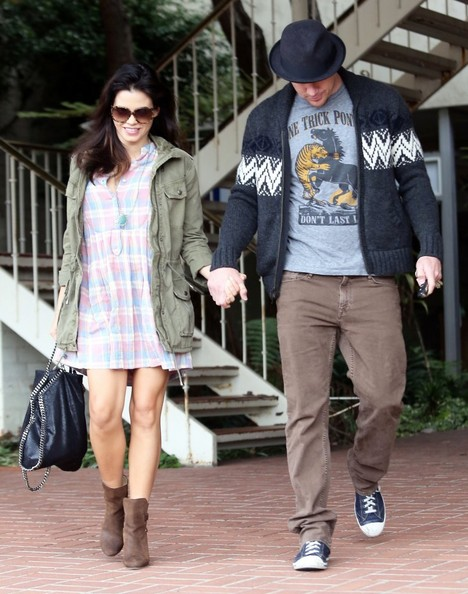 Jenna Dewan Out and About With Channing Tatum in LA