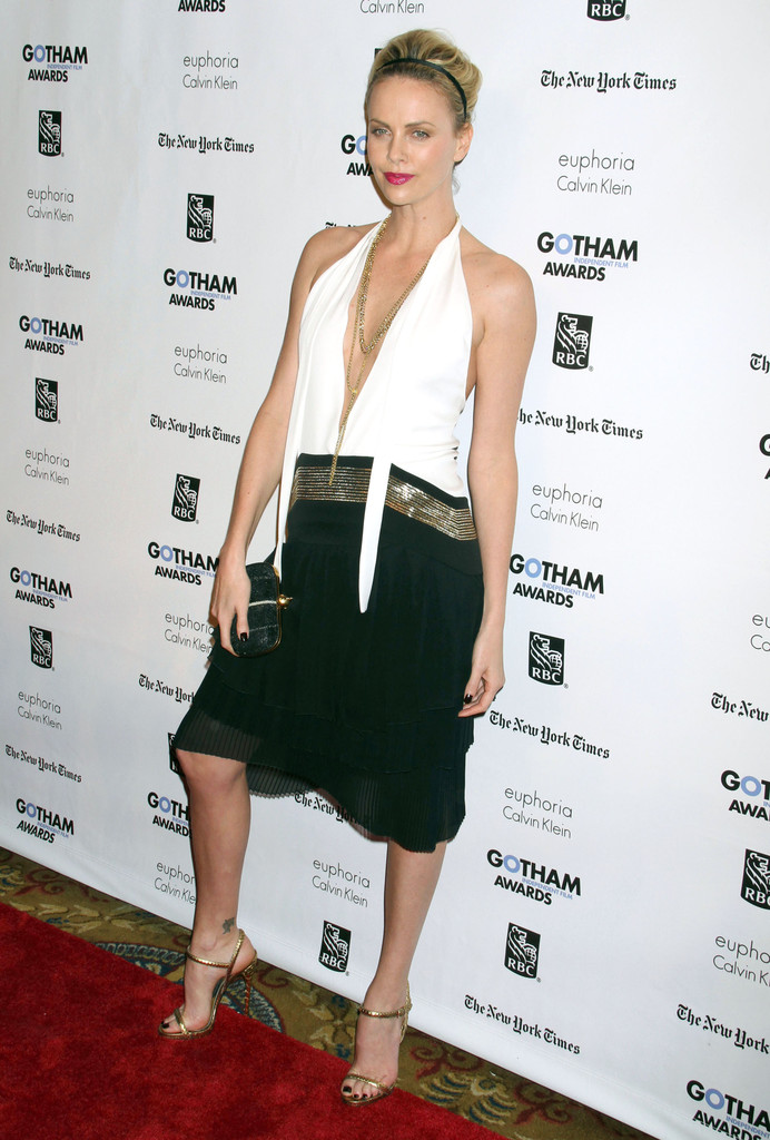 charlize theron cocktail dress charlize theron looks