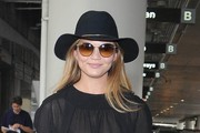 Chrissy Teigen Cateye Sunglasses
