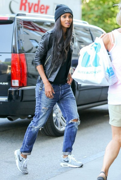 More Pics Of Ciara Ripped Jeans 4 Of 8 Fashion Lookbook