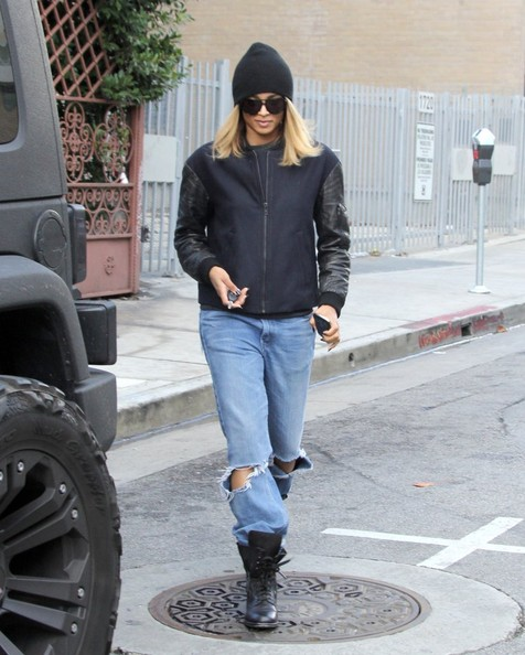 Ciara Leaves Her Dance Rehearsals