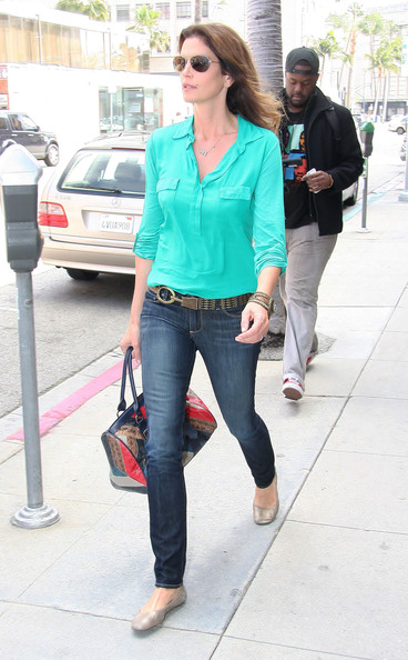 More Pics of Cindy Crawford Button Down Shirt (1 of 7) - Cindy Crawford Lookbook - StyleBistro