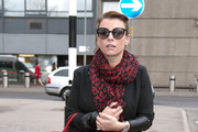 Coleen Rooney Patterned Scarf
