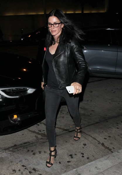 Courteney Cox Studded Heels