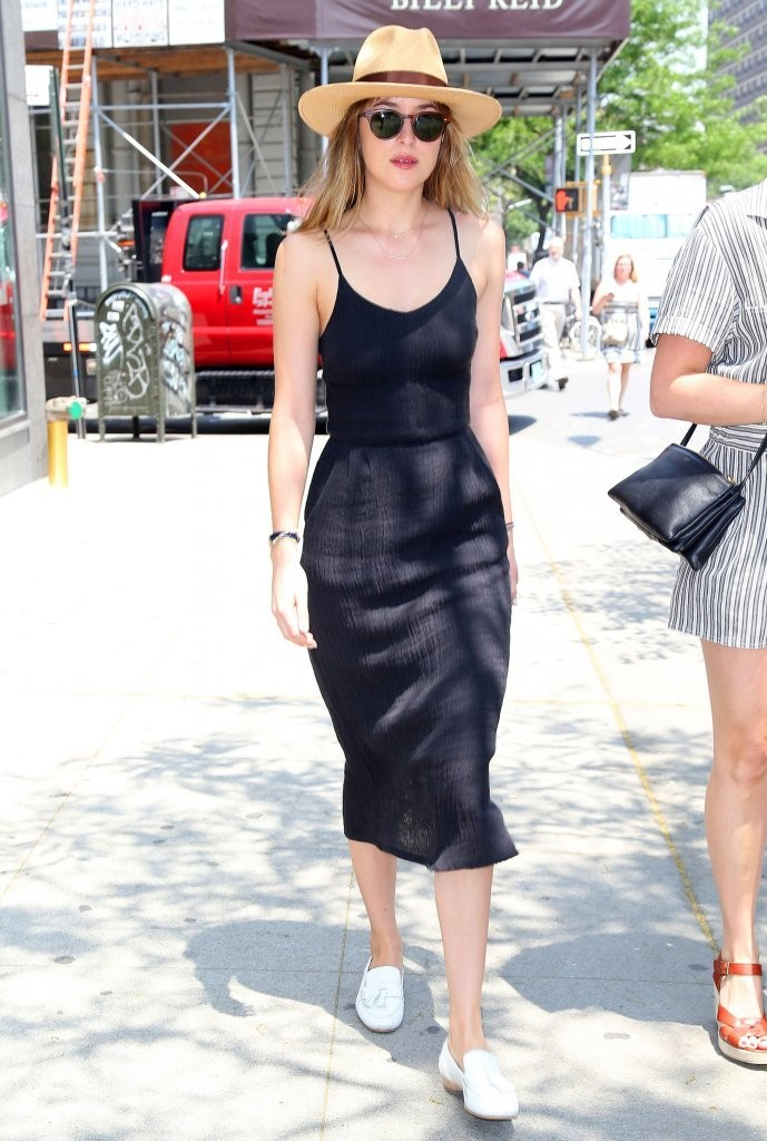 Dakota Johnson Steps Out in NYC