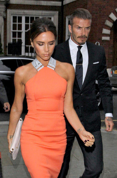 More Pics of Victoria Beckham Peep Toe Pumps (1 of 10) - Victoria Beckham Lookbook - StyleBistro