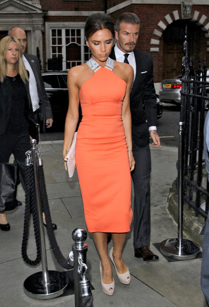 Victoria+Beckham in David & Victoria Beckham Are Ready To Party 2