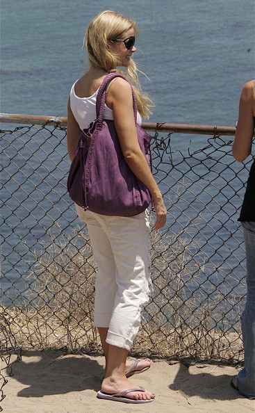 Denise Richards Oversized Drawstring Bag