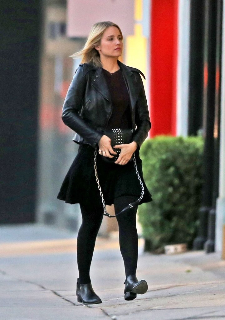 Model Dianna Agron Street Style  39New Stone Age39 Store In West Hollywood