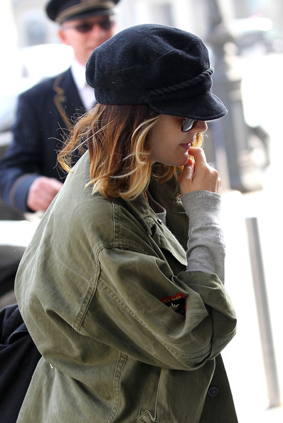 More Pics of Drew Barrymore Military Jacket (1 of 11) - Drew Barrymore Lookbook - StyleBistro