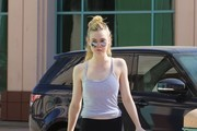 Elle Fanning Camisole