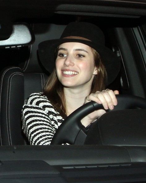 More Pics of Emma Roberts Walker Hat (1 of 10) - Walker Hat Lookbook - StyleBistro