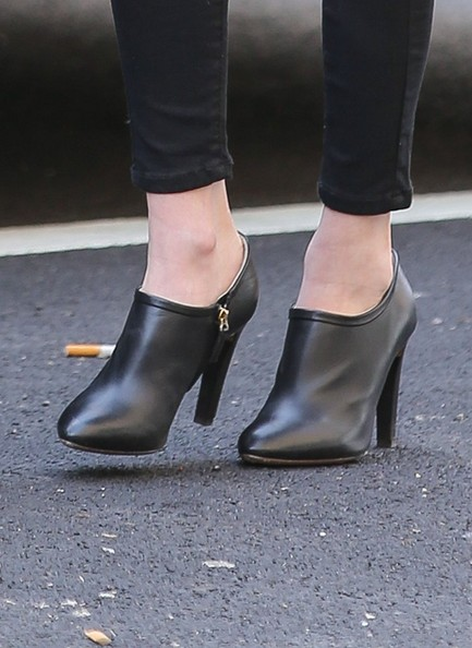 More Pics of Emma Roberts Ankle Boots (1 of 19) - Ankle Boots Lookbook - StyleBistro