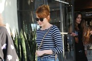 Emma Stone Boatneck Sweater