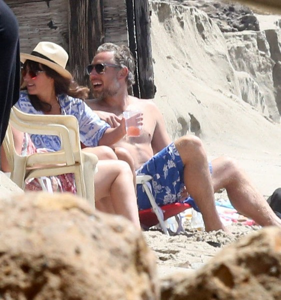 Eric Johnson Spends The Day at the Beach