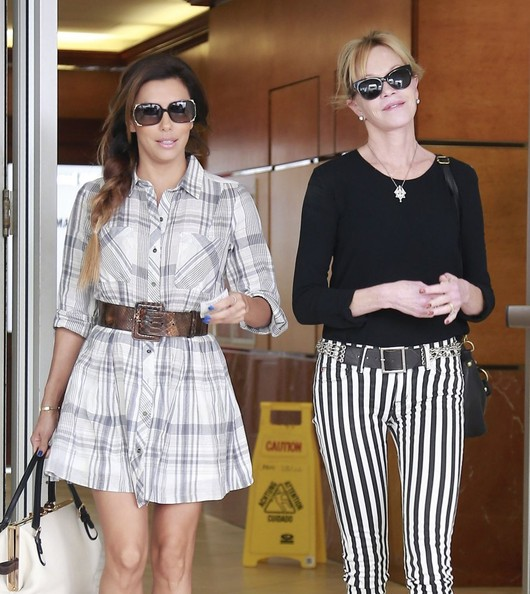 Eva Longoria Shirtdress