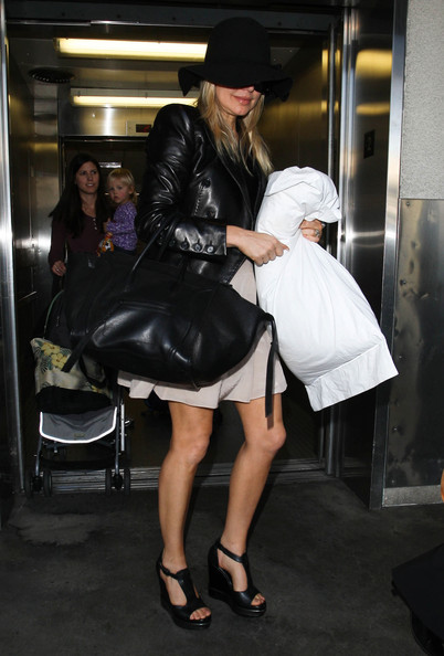 Fergie Leather Tote