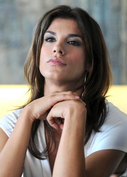 More Pics of Elisabetta Canalis Leather Belt (1 of 16) - Elisabetta Canalis Lookbook - StyleBistro