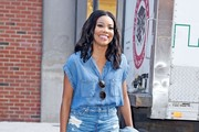 Gabrielle Union Denim Skirt