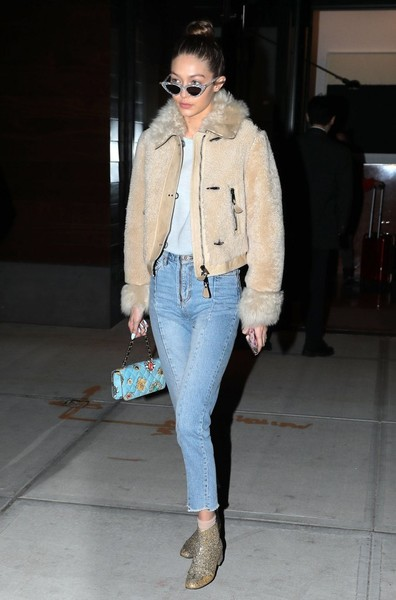 Gigi Hadid Fleece Jacket