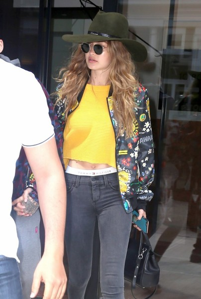 1465627607061 More Pics of Gigi Hadid Cowboy Hat (1 of 11) - Gigi Hadid Lookbook -  StyleBistro