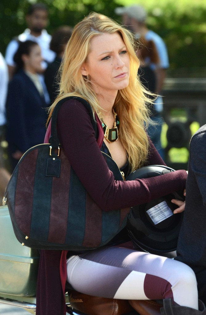 More Pics Of Blake Lively Knee High Boots 13 Of 19