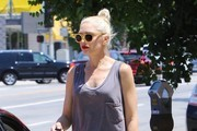 Gwen Stefani Leather Clutch