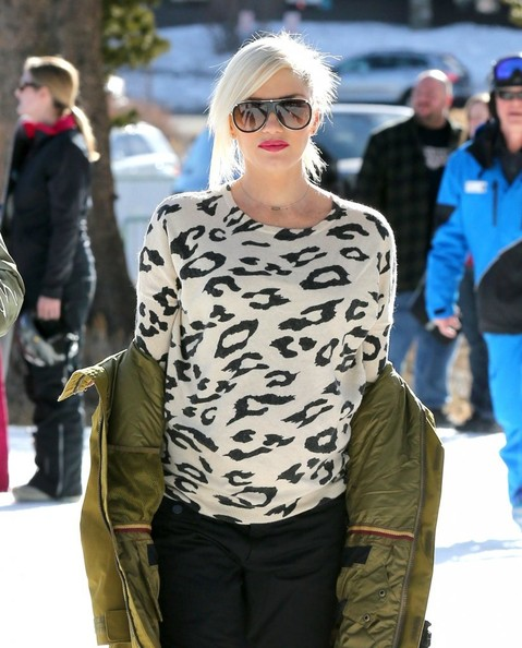 Gwen Stefani Designer Shield Sunglasses