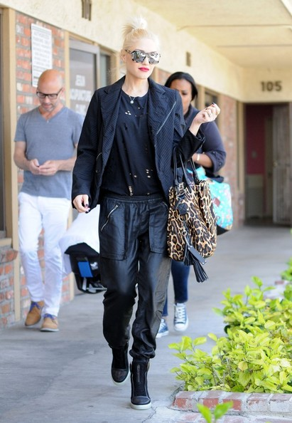 More Pics of Gwen Stefani Wedge Boots (1 of 20) - Boots Lookbook - StyleBistro