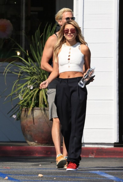 Hailey Bieber Tennis Sneakers