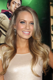 Melissa Ordway wore her long locks in soft waves at the LA premiere of 'A Very Harold & Kumar 3D Christmas.' She also braided a small section of her tresses and clipped it back with a pretty barrette.
