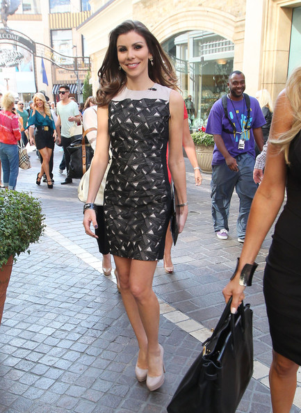 Heather Dubrow Print Dress