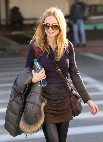 More Pics of Heather Graham Tights (1 of 10) - Tights Lookbook - StyleBistro