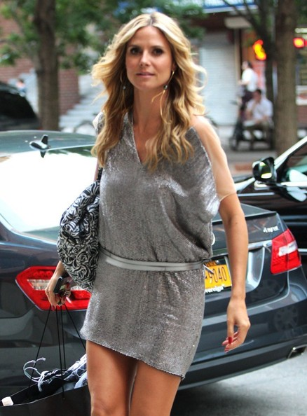 More Pics of Heidi Klum Mini Dress (1 of 6) - Heidi Klum Lookbook - StyleBistro