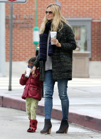 More Pics of Heidi Klum Skinny Jeans (1 of 11) - Jeans Lookbook - StyleBistro