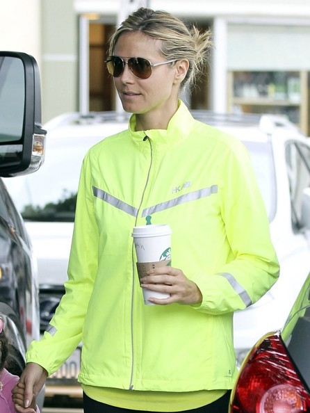 More Pics of Heidi Klum Zip-up Jacket (1 of 13) - Heidi Klum Lookbook - StyleBistro