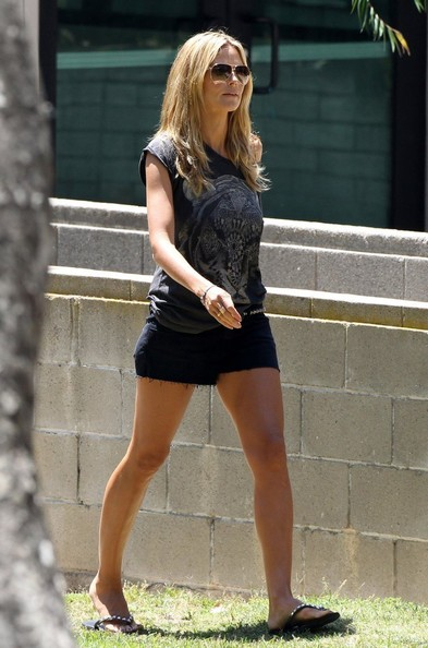 Heidi Klum Denim Shorts