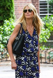 Heidi Klum looked cool in her aviators while visiting the Central Park Zoo.