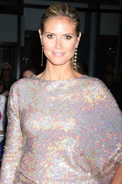 More Pics of Heidi Klum Ponytail (1 of 22) - Heidi Klum Lookbook - StyleBistro