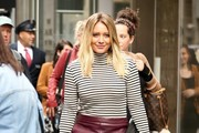 Hilary Duff Mini Skirt