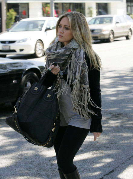 Hilary Duff Oversized Satchel