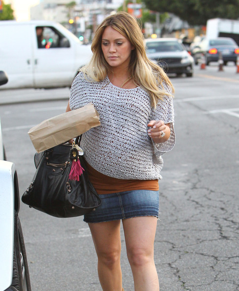 Hilary Duff Knit Top