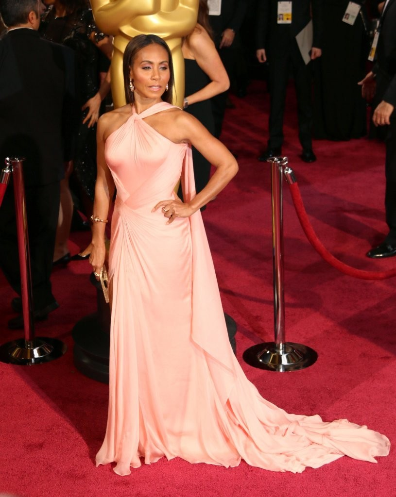 Jada Pinkett Smith Halter Dress Jada Pinkett Smith