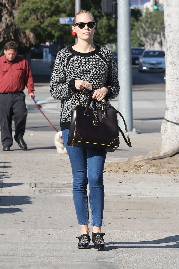Jaime King Running Errands In Beverly Hills